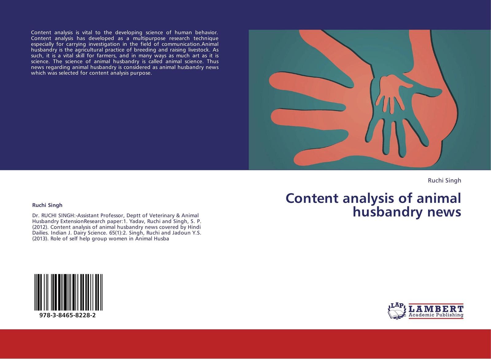 Ruchi Singh Content analysis of animal husbandry news