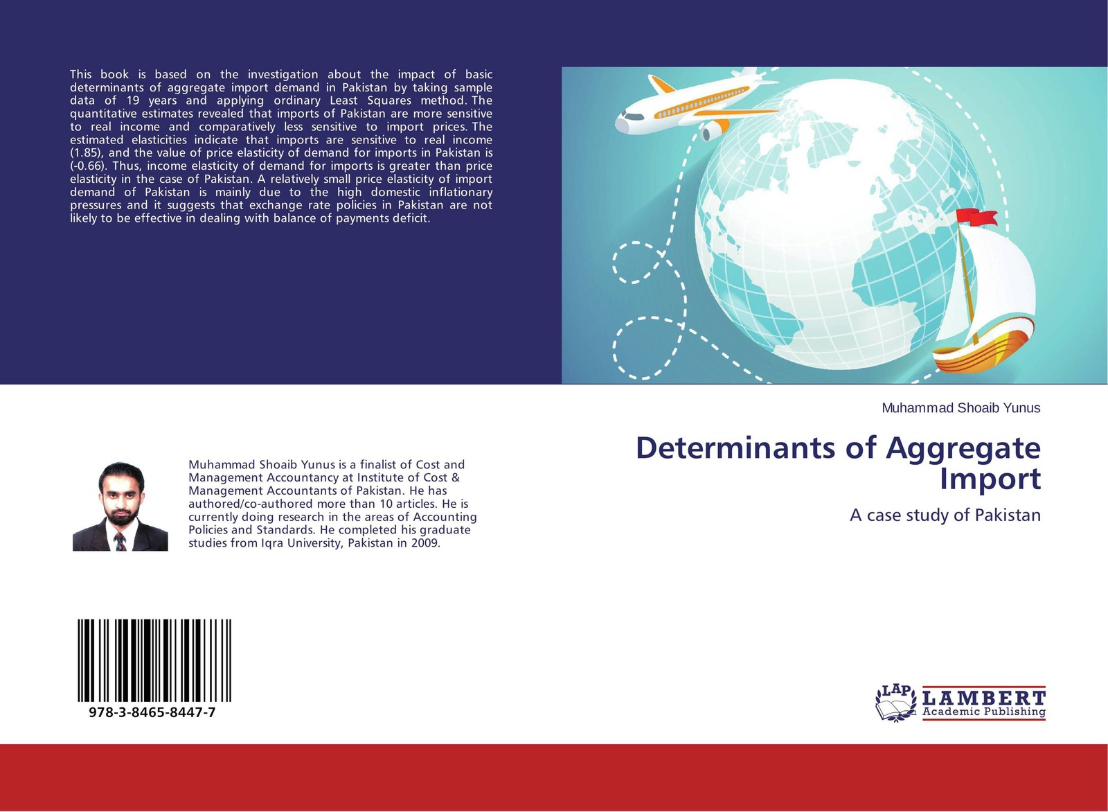 Muhammad Shoaib Yunus Determinants of Aggregate Import muhammad altaf qureshi universalization of primary education in pakistan