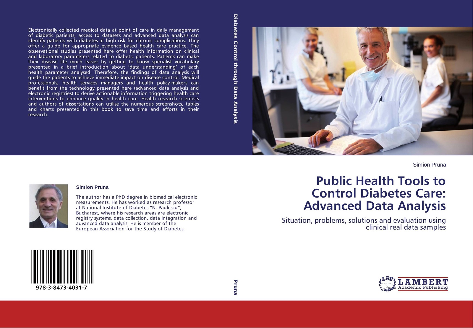 Simion Pruna Public Health Tools to Control Diabetes Care: Advanced Data Analysis electronic health records and medical big data