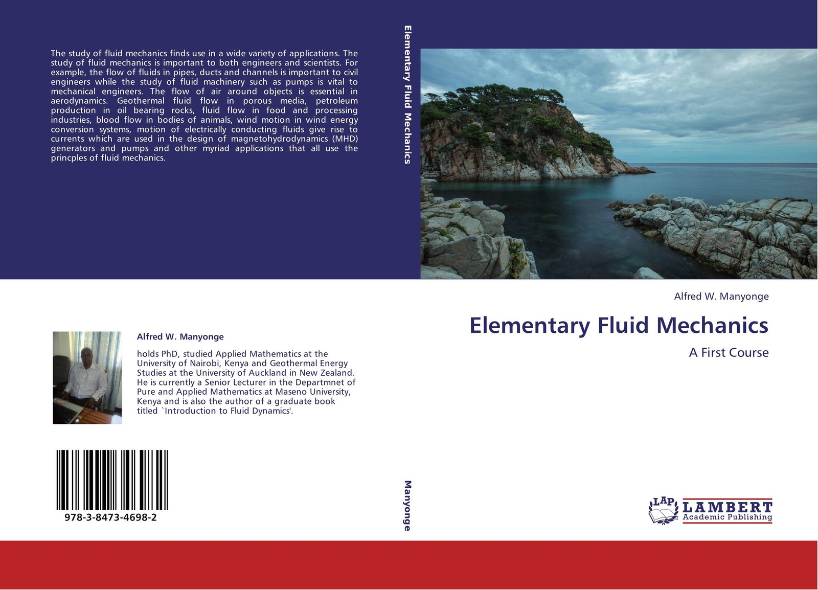 Alfred W. Manyonge Elementary Fluid Mechanics alain boutier laser metrology in fluid mechanics granulometry temperature and concentration measurements