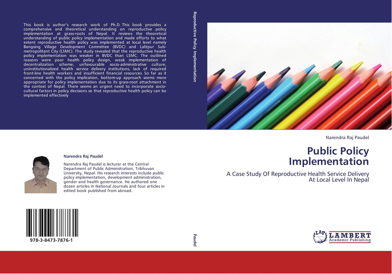 Narendra Raj Paudel Public Policy Implementation stephen gumboh decentralization policy implementation in zambia