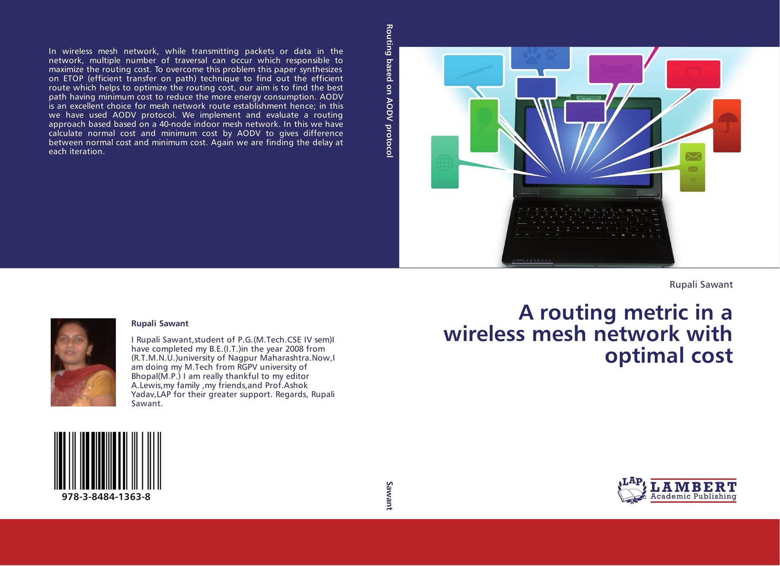 цены Rupali Sawant A routing metric in a wireless mesh network with optimal cost