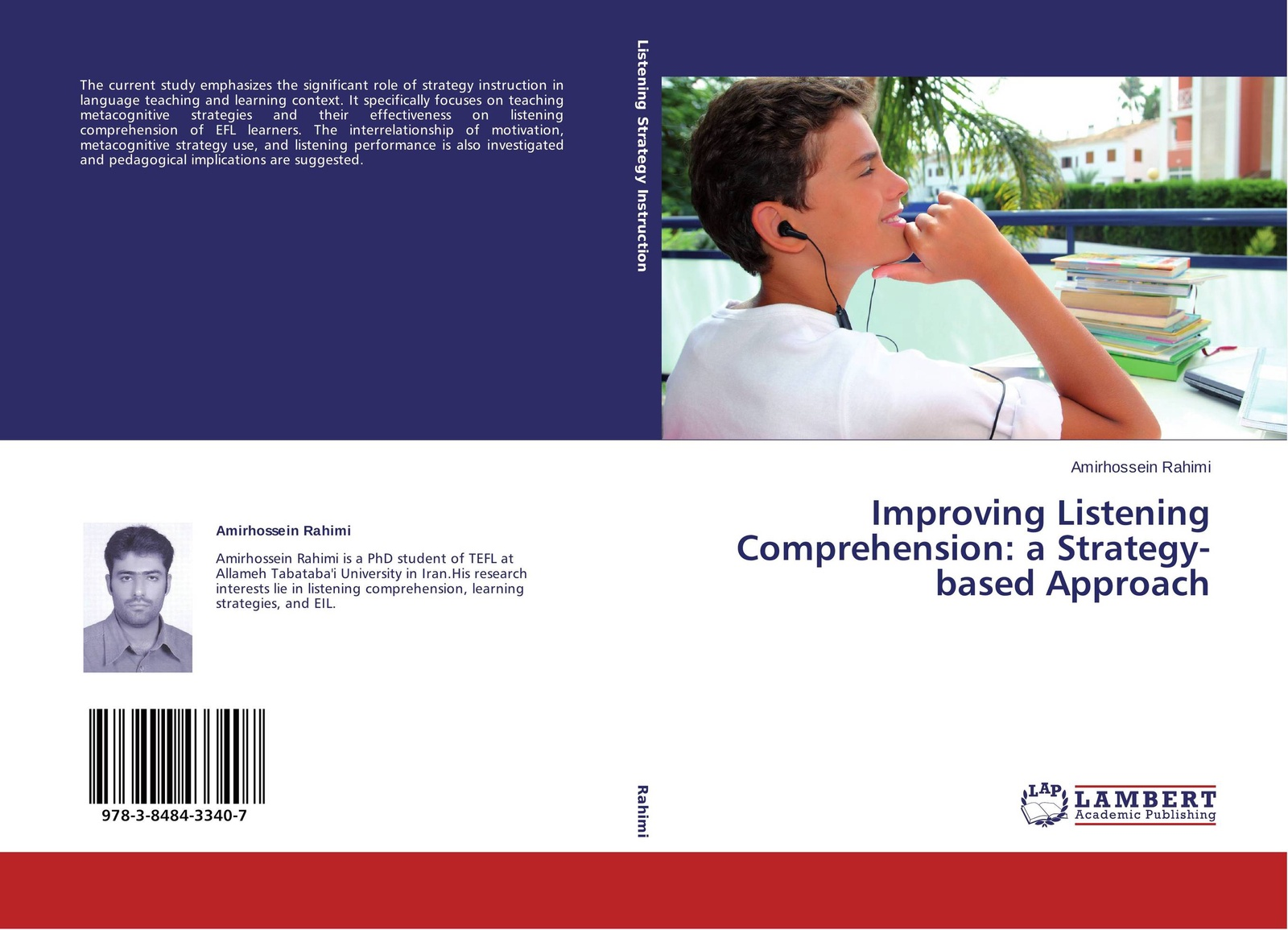 Amirhossein Rahimi Improving Listening Comprehension: a Strategy-based Approach цена