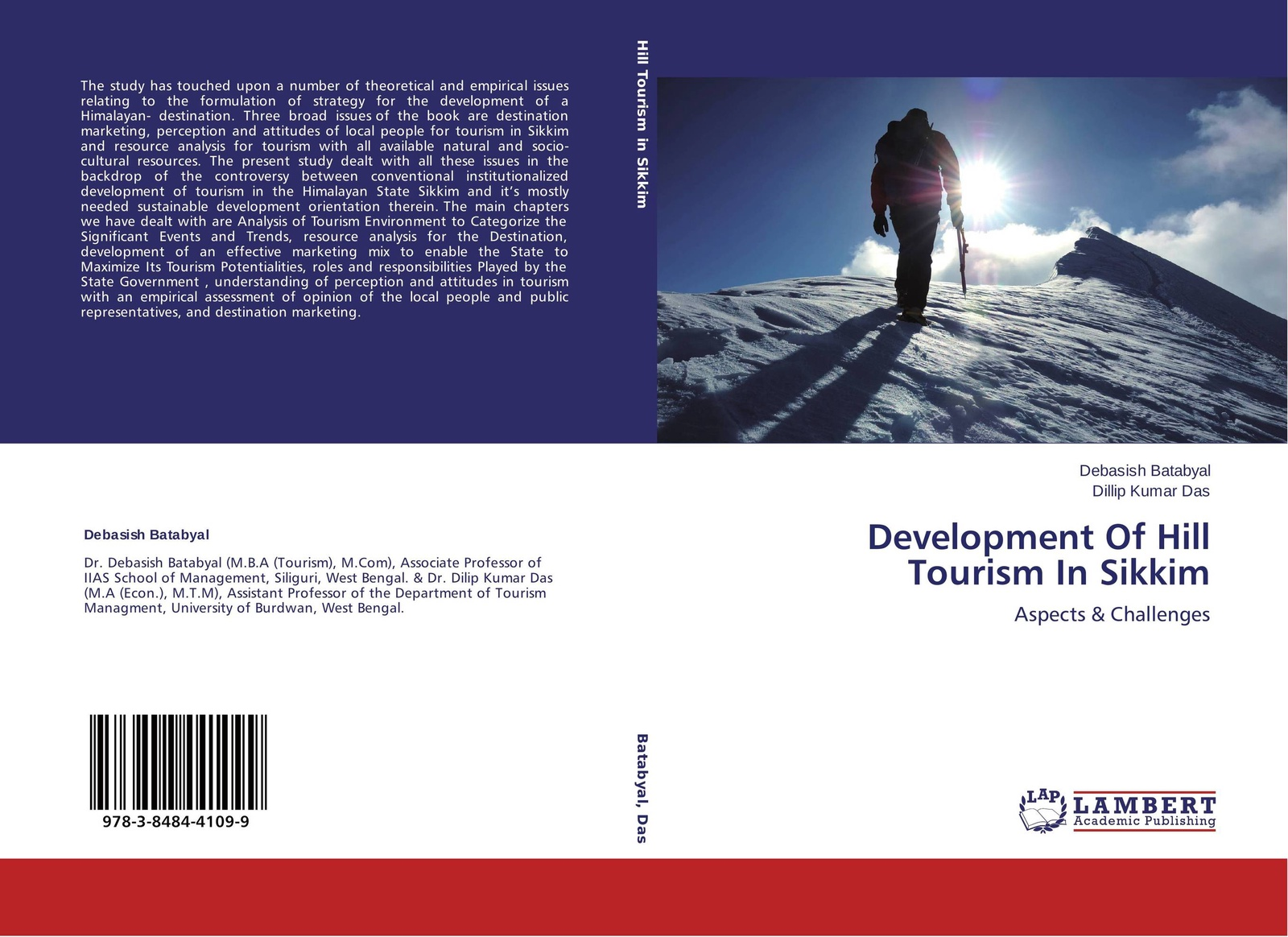 Debasish Batabyal and Dillip Kumar Das Development Of Hill Tourism In Sikkim
