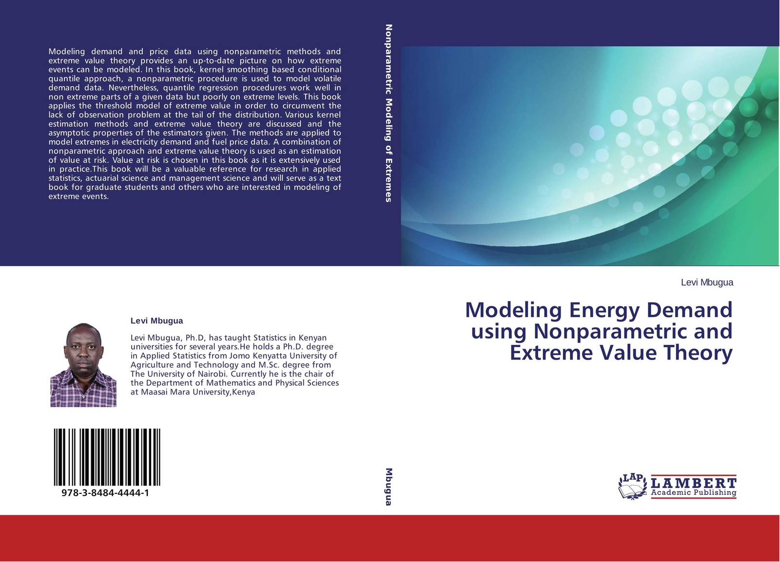 Levi Mbugua Modeling Energy Demand using Nonparametric and Extreme Value Theory francois longin extreme events in finance a handbook of extreme value theory and its applications