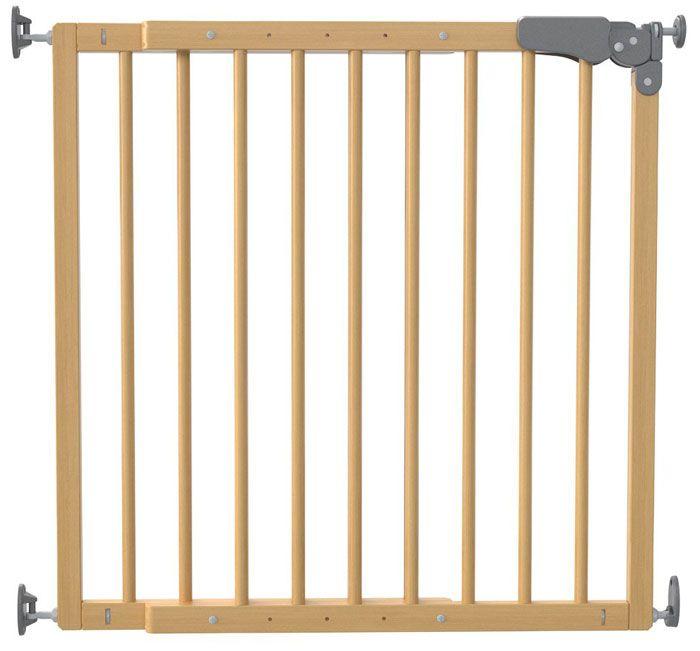 Ворота безопасности Safe & Care с креплением в стены Дерево 73-108 см