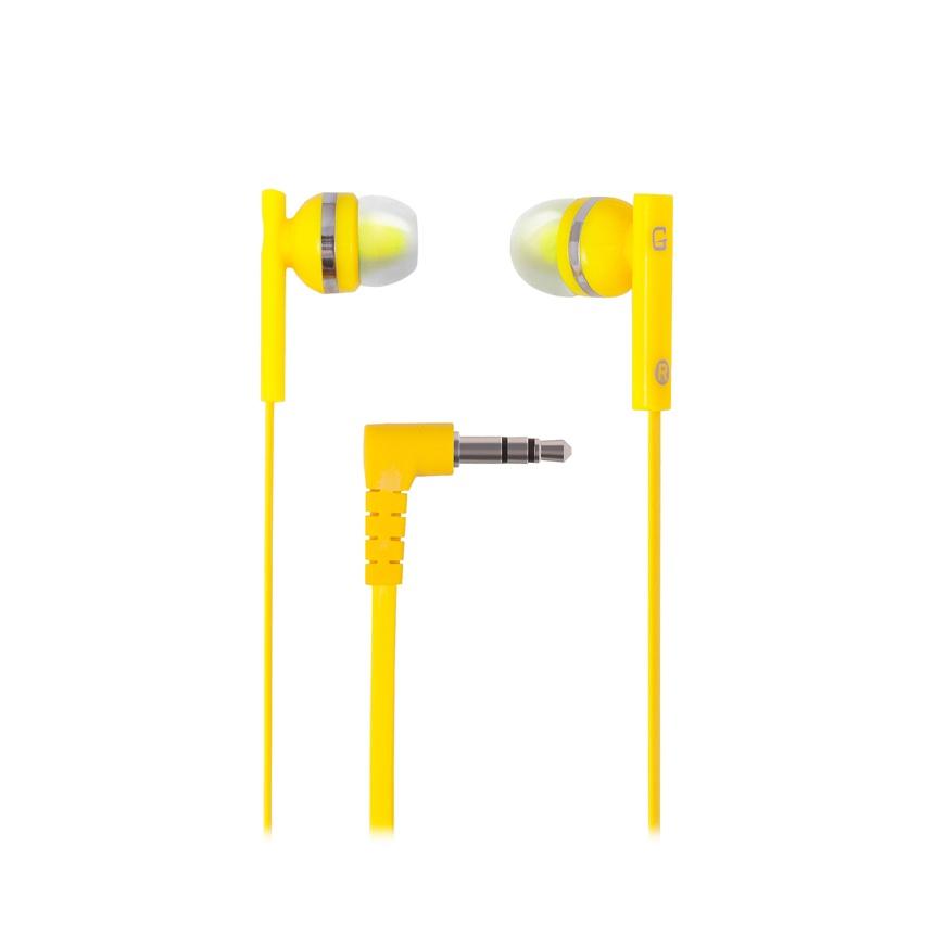 цена на Наушники проводные GAL M-005Y-F Цвет: желтый