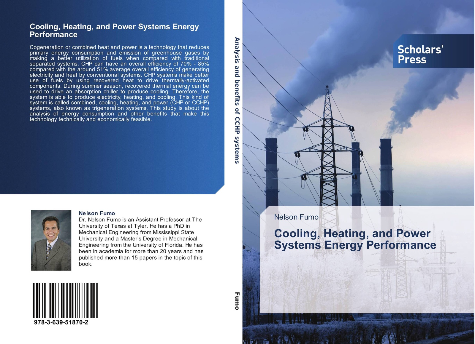 Nelson Fumo Cooling, Heating, and Power Systems Energy Performance fang fang combined cooling heating and power systems modeling optimization and operation