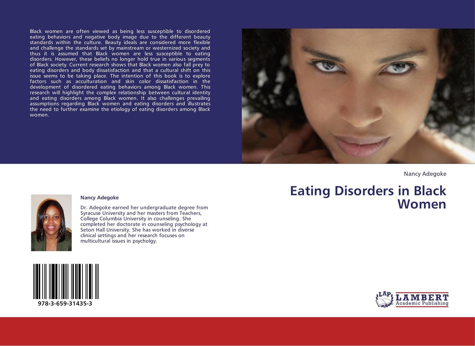 Nancy Adegoke Eating Disorders in Black Women levine michael p the wiley handbook of eating disorders