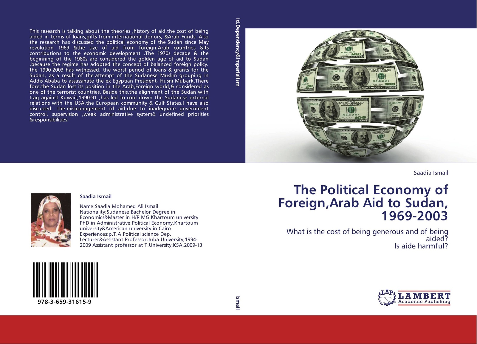 Saadia Ismail The Political Economy of Foreign,Arab Aid to Sudan, 1969-2003 the rationale behind foreign aid