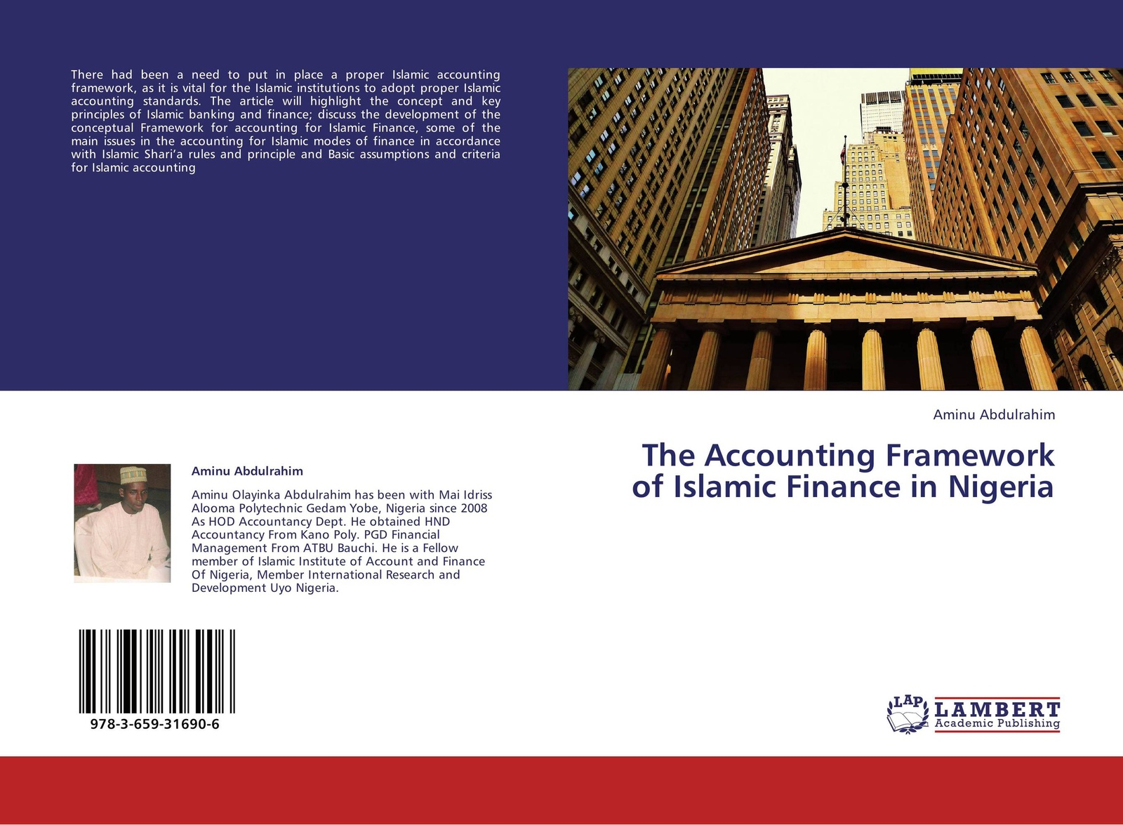 Aminu Abdulrahim The Accounting Framework of Islamic Finance in Nigeria brian kettell frequently asked questions in islamic finance