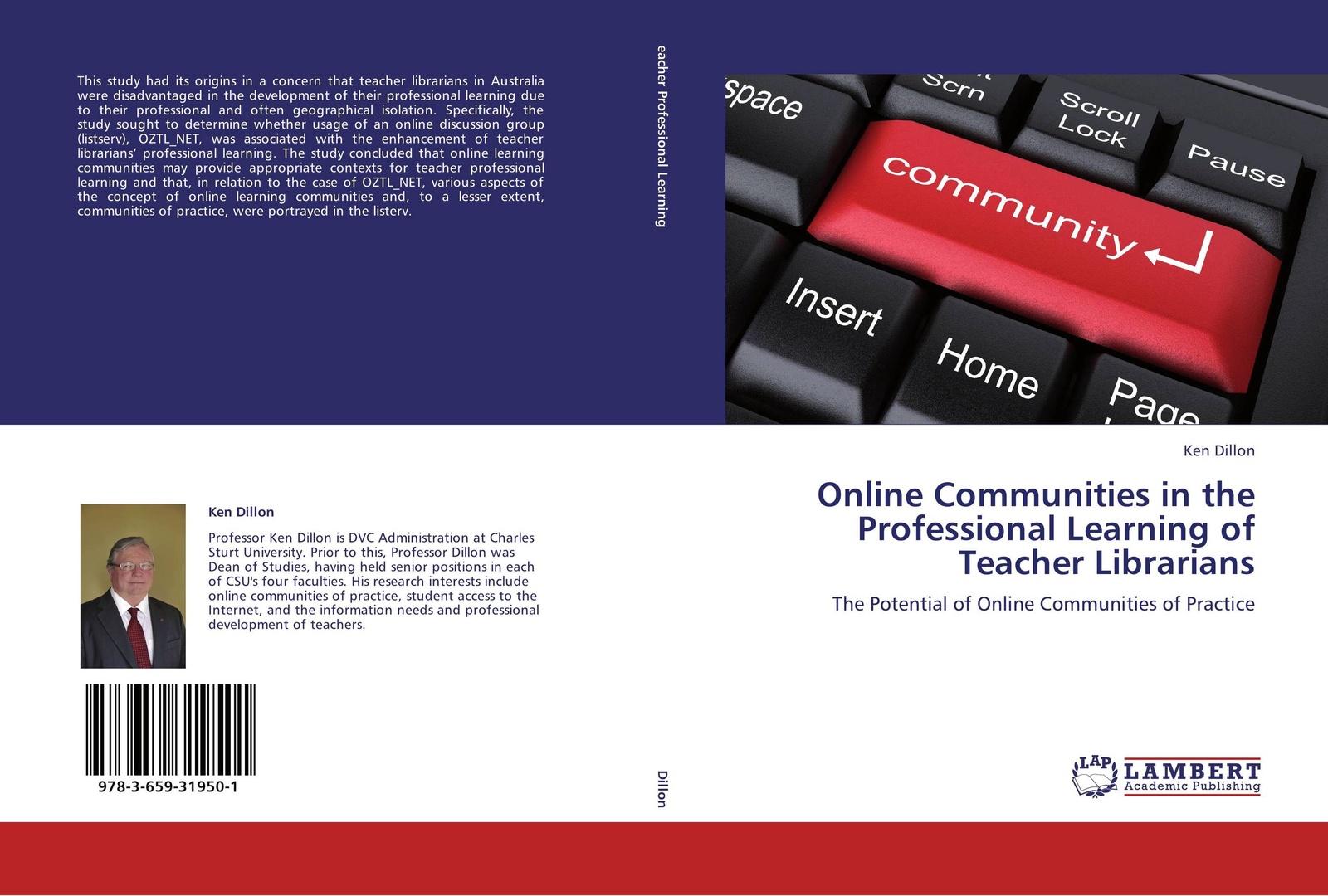 Ken Dillon Online Communities in the Professional Learning of Teacher Librarians building non profit communities online