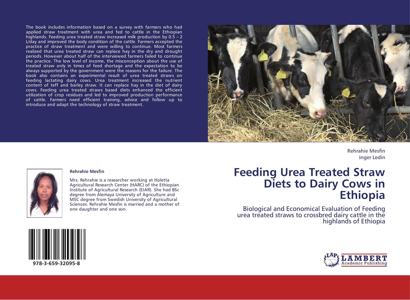 Rehrahie Mesfin and Inger Ledin Feeding Urea Treated Straw Diets to Dairy Cows in Ethiopia цена