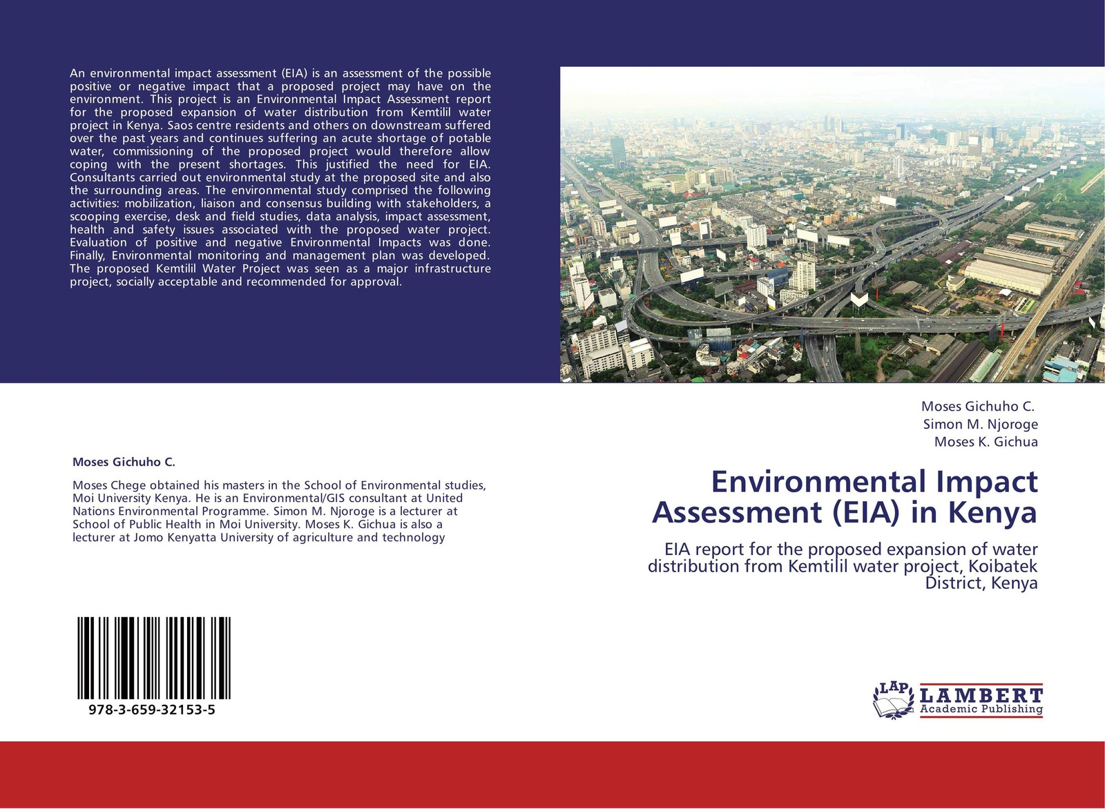 Фото - Moses Gichuho C.,Simon M. Njoroge and Moses K. Gichua Environmental Impact Assessment (EIA) in Kenya m tauhid ur rahman an environmental impact assessment for proposed housing development