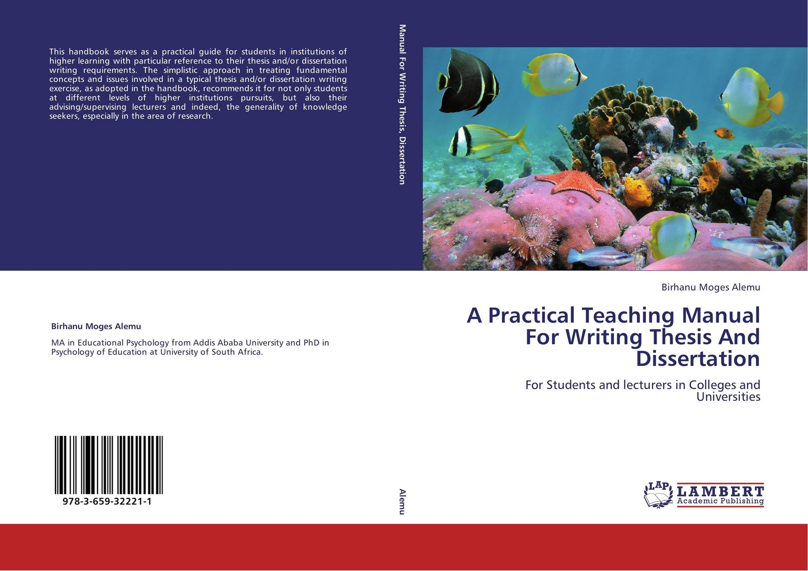 Birhanu Moges Alemu A Practical Teaching Manual For Writing Thesis And Dissertation цена