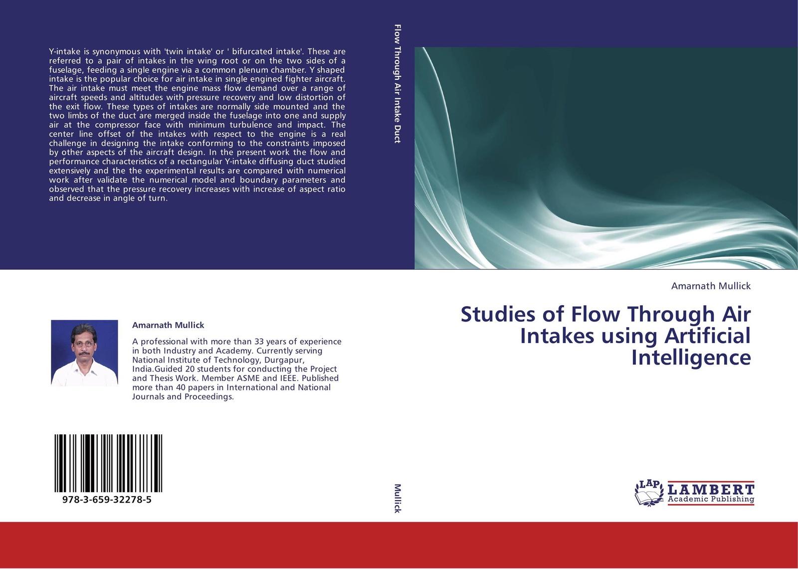 Amarnath Mullick Studies of Flow Through Air Intakes using Artificial Intelligence ручка dnd intake
