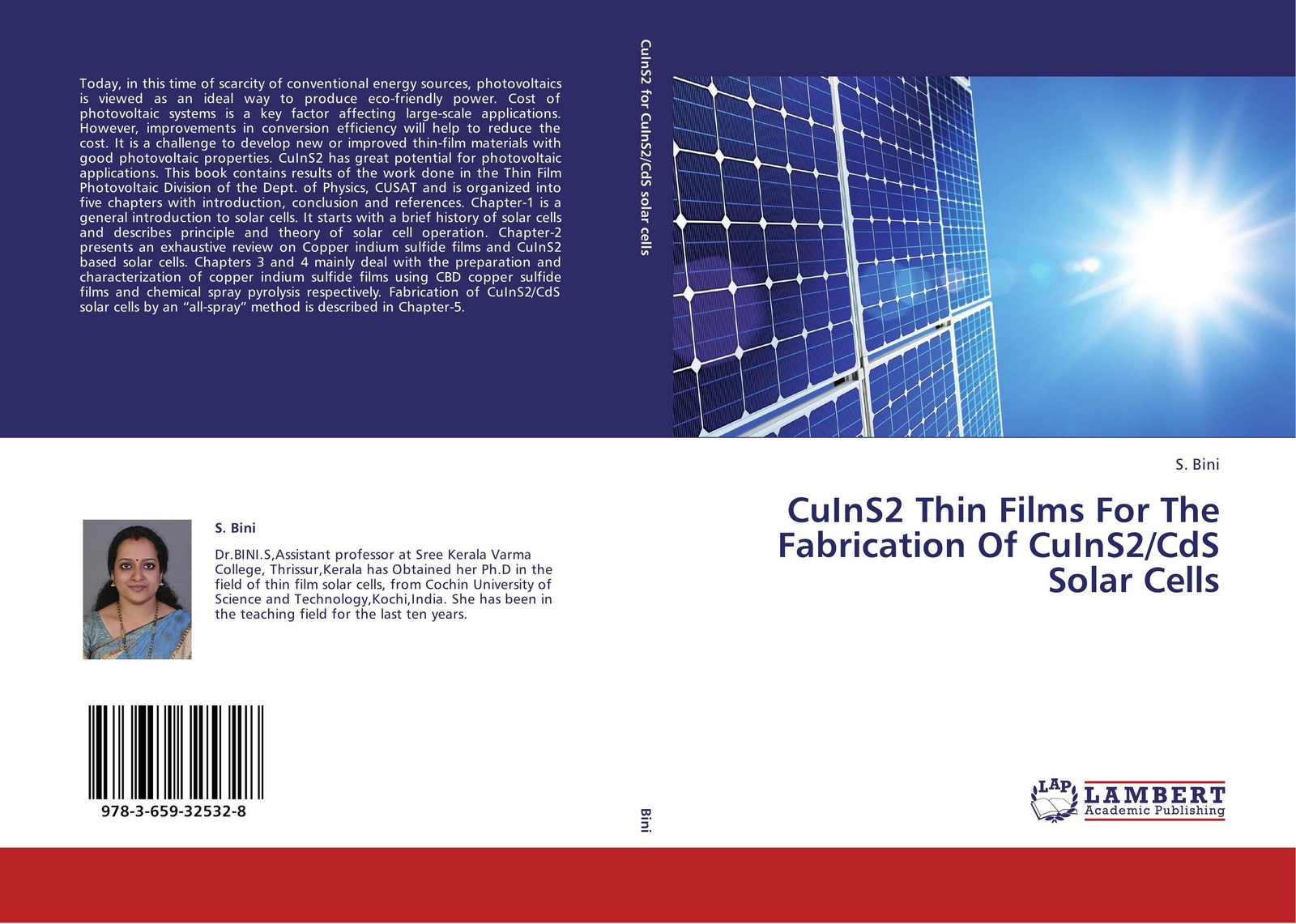 S. Bini CuInS2 Thin Films For The Fabrication Of CuInS2/CdS Solar Cells