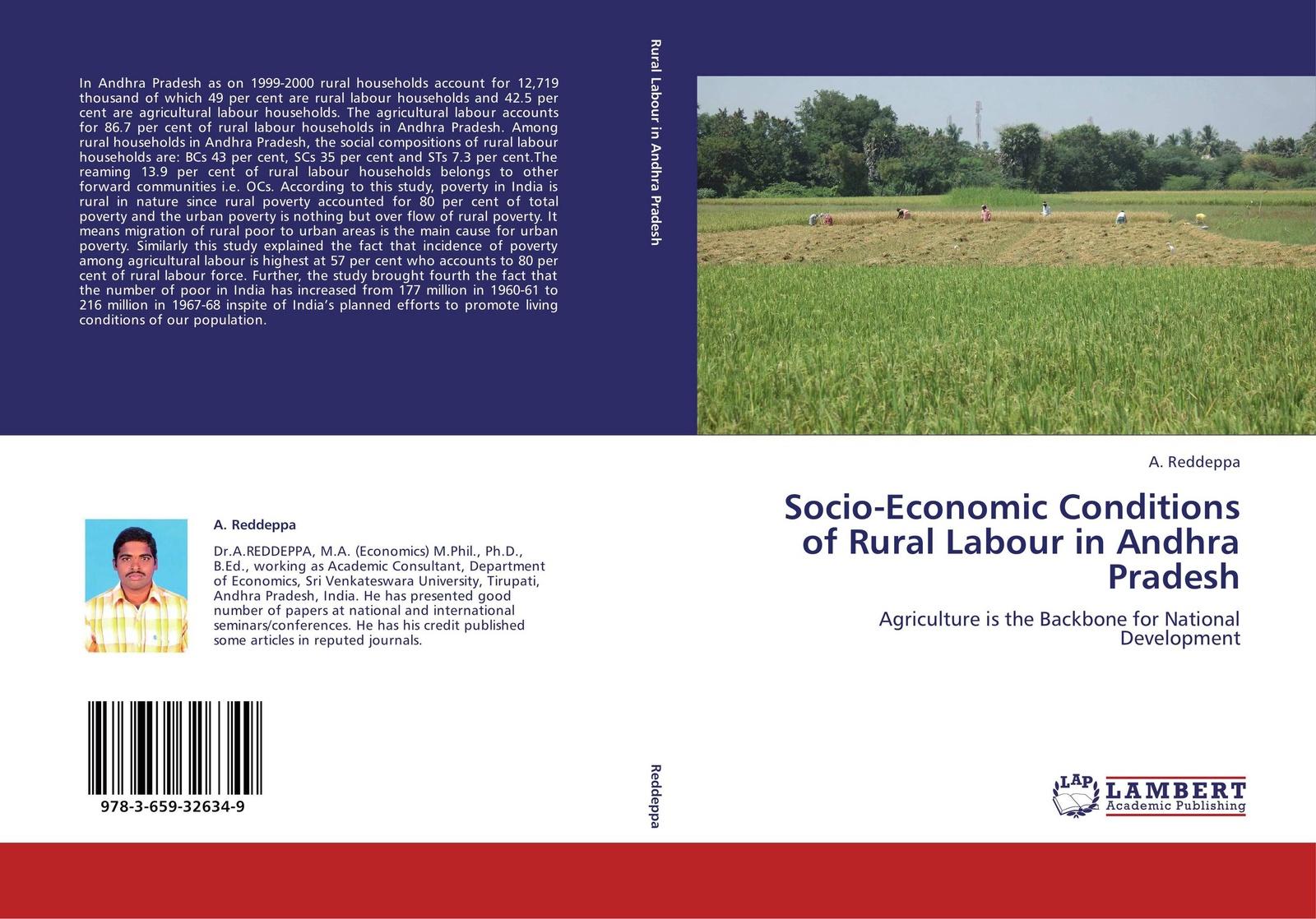 A. Reddeppa Socio-Economic Conditions of Rural Labour in Andhra Pradesh цена в Москве и Питере