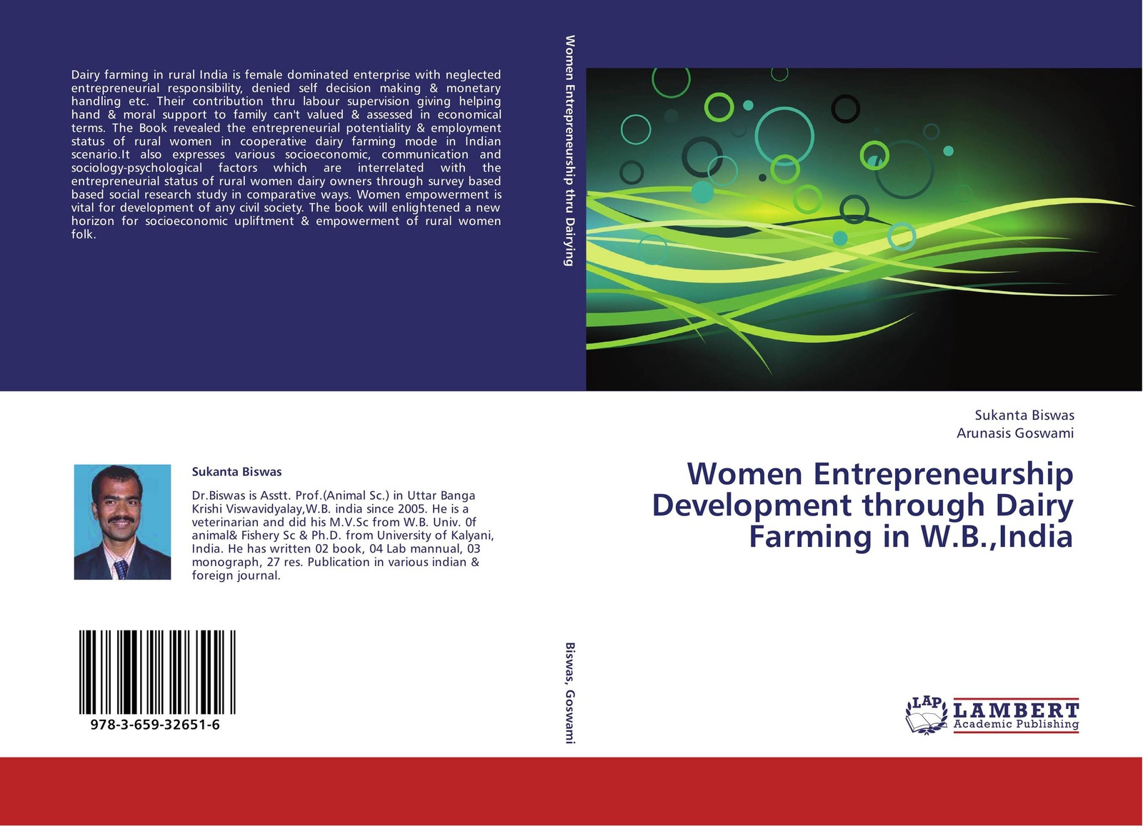 Sukanta Biswas and Arunasis Goswami Women Entrepreneurship Development through Dairy Farming in W.B.,India entrepreneurial orientations of rural women