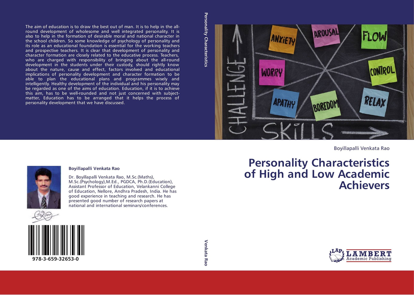 Boyillapalli Venkata Rao Personality Characteristics of High and Low Academic Achievers afifa khanam effect of religious education on the moral development of children