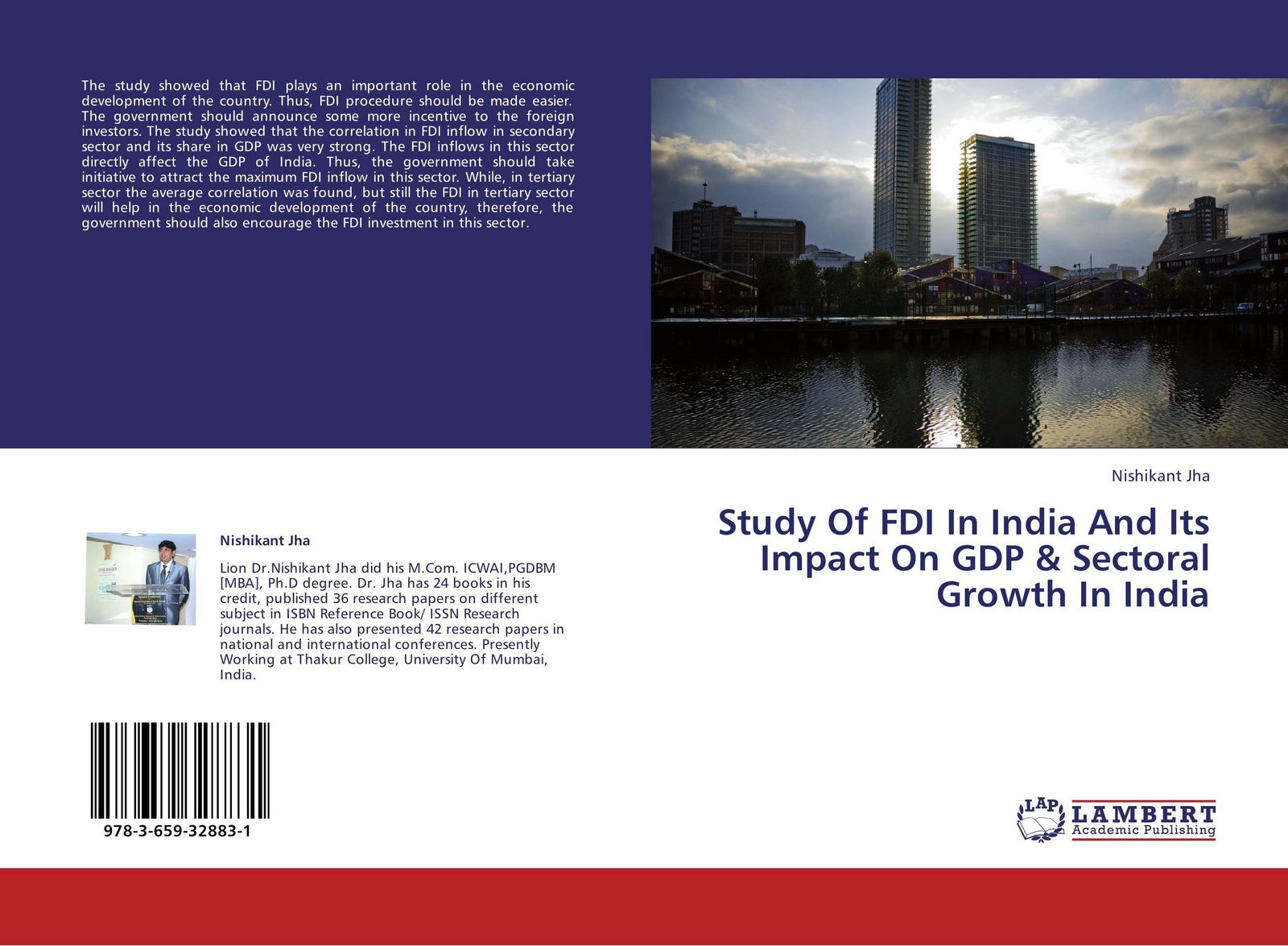 Nishikant Jha Study Of FDI In India And Its Impact On GDP & Sectoral Growth In India
