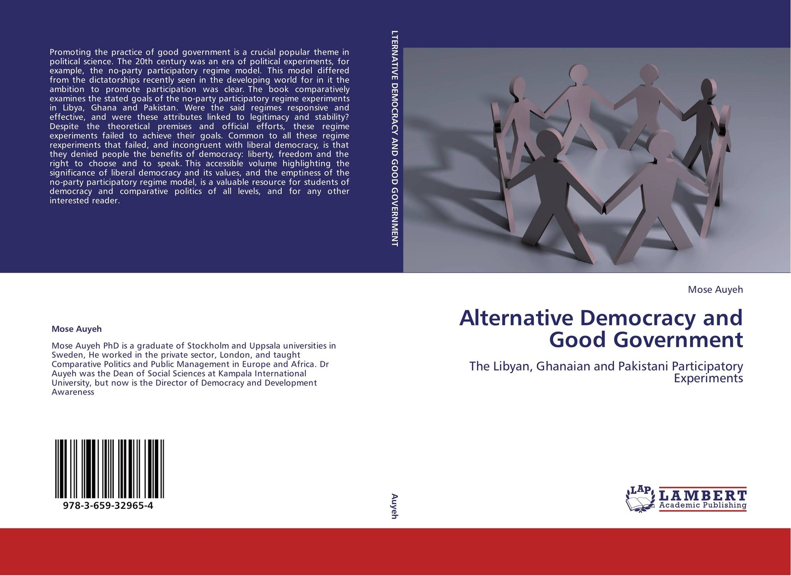 цены Mose Auyeh Alternative Democracy and Good Government