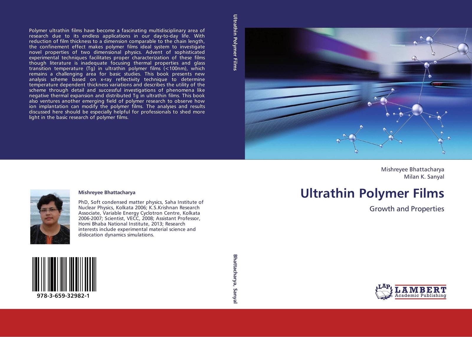 лучшая цена Mishreyee Bhattacharya and Milan K. Sanyal Ultrathin Polymer Films