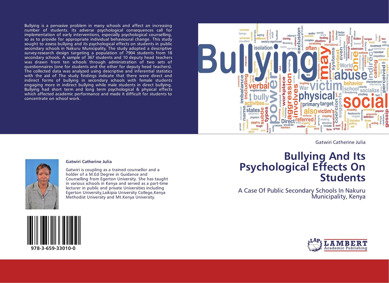 Gatwiri Catherine Julia Bullying And Its Psychological Effects On Students psychological adjustment of bangladeshi students at iiu malaysia