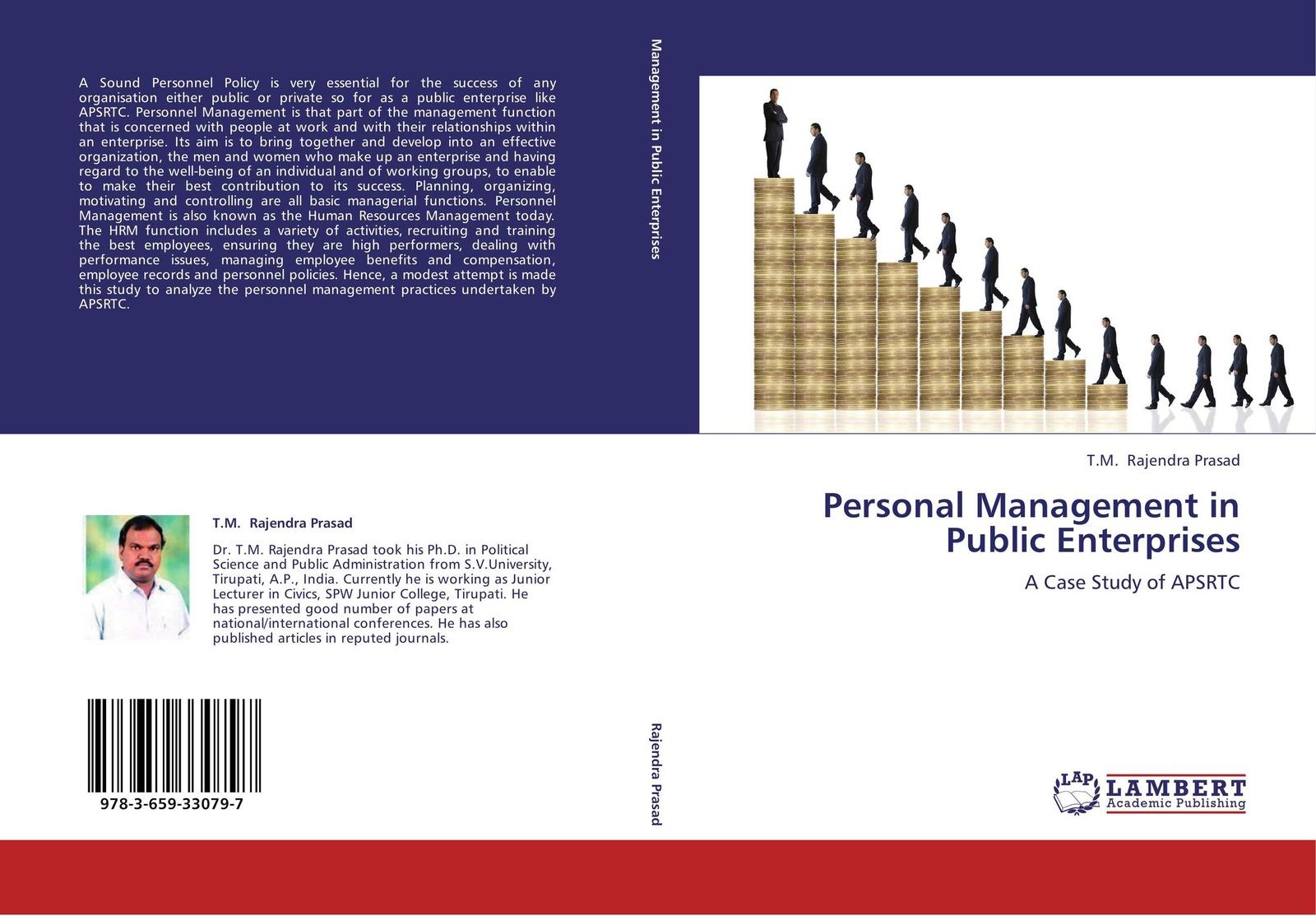 T.M. Rajendra Prasad Personal Management in Public Enterprises