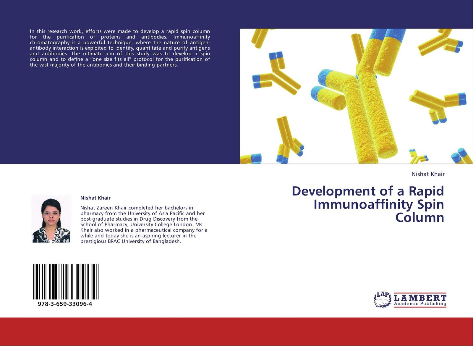 Фото - Nishat Khair Development of a Rapid Immunoaffinity Spin Column a column of fire