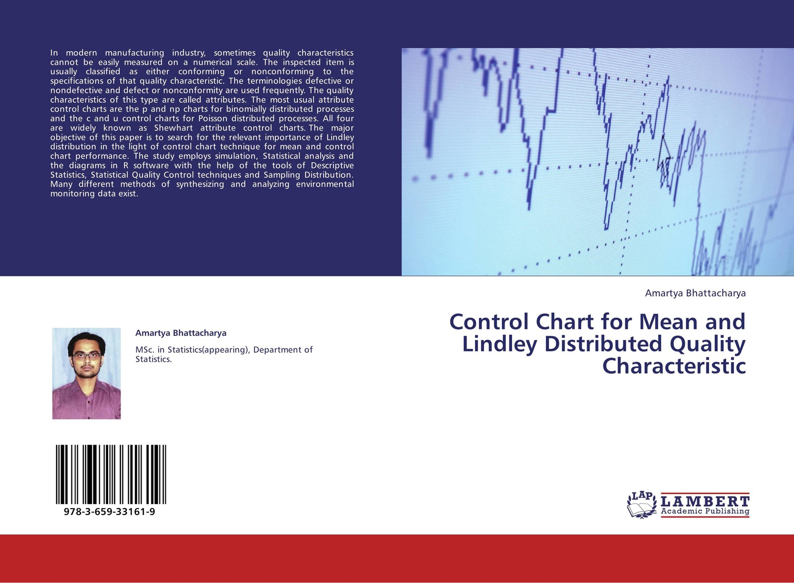 лучшая цена Amartya Bhattacharya Control Chart for Mean and Lindley Distributed Quality Characteristic