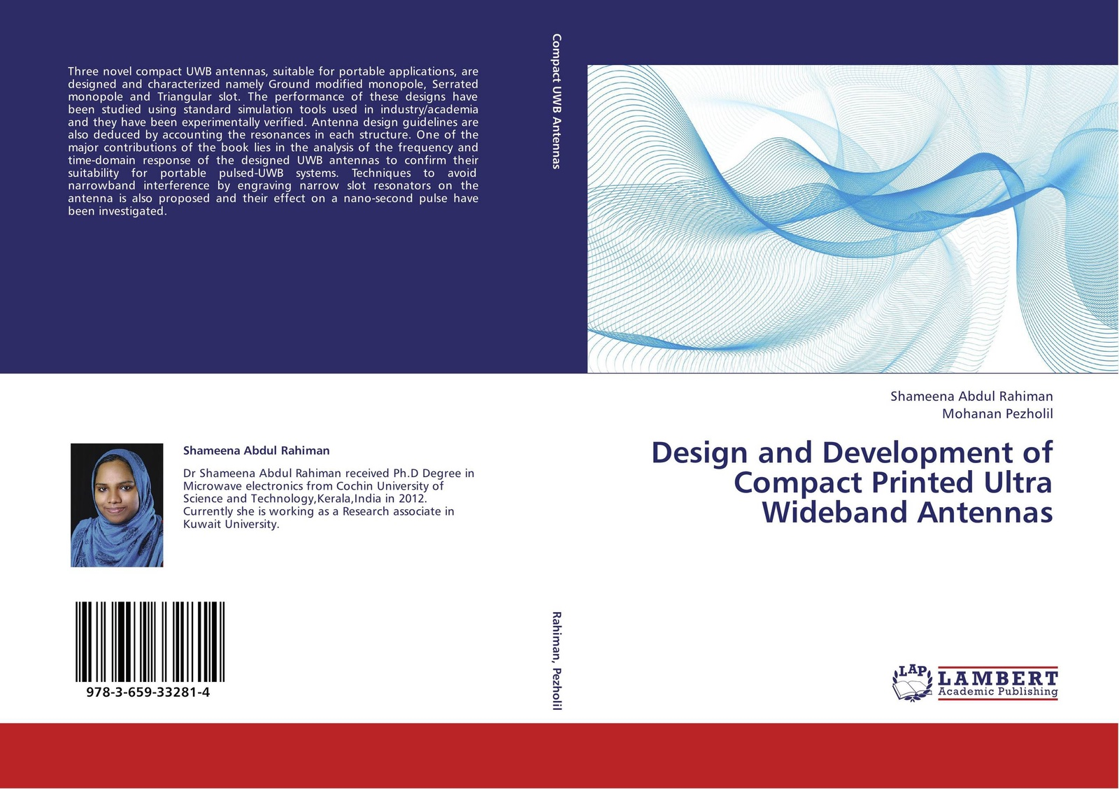 Shameena Abdul Rahiman and Mohanan Pezholil Design and Development of Compact Printed Ultra Wideband Antennas hae soo kwak nano and microencapsulation for foods