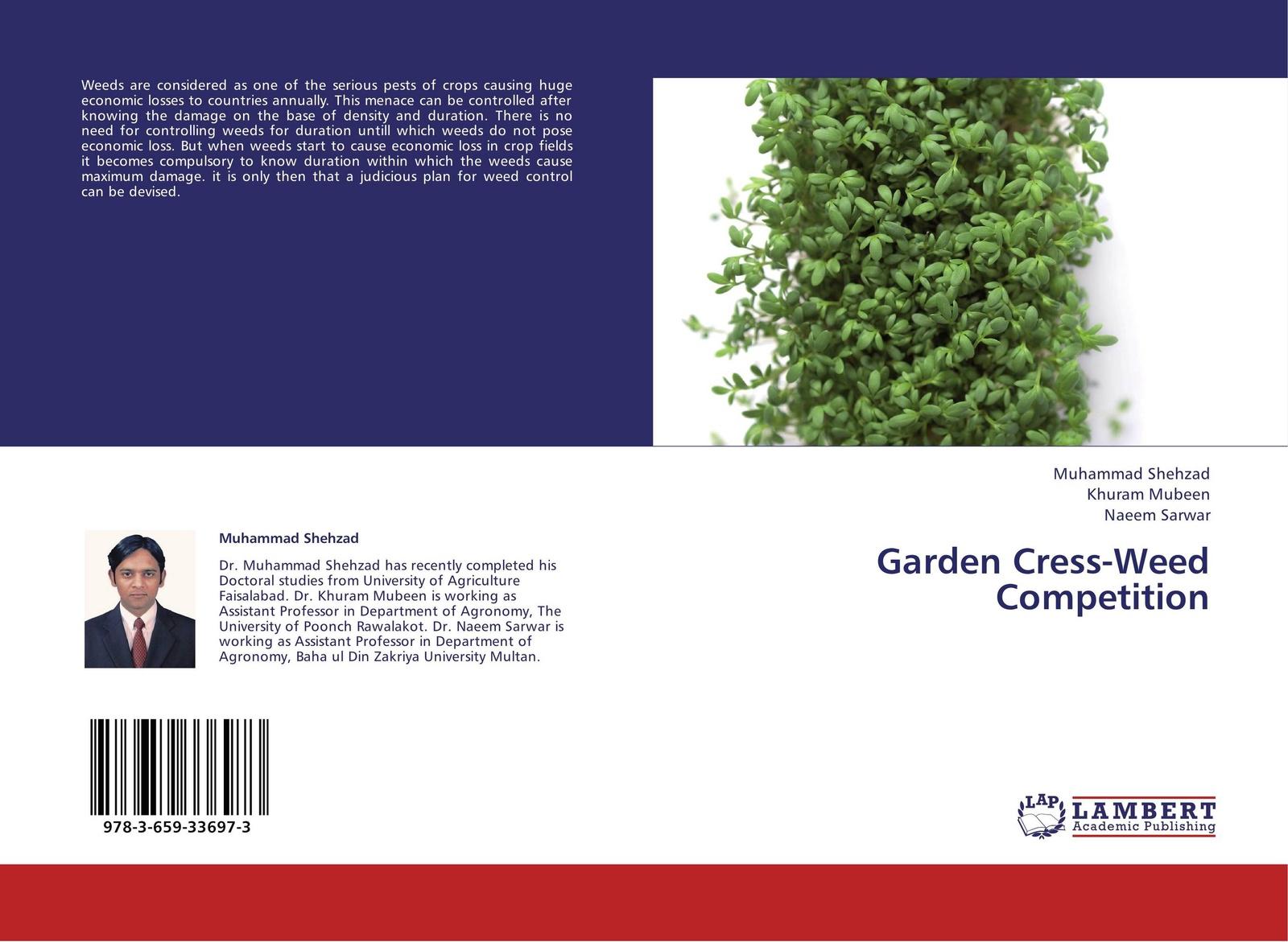 Muhammad Shehzad,Khuram Mubeen and Naeem Sarwar Garden Cress-Weed Competition gunter nitsch weeds like us