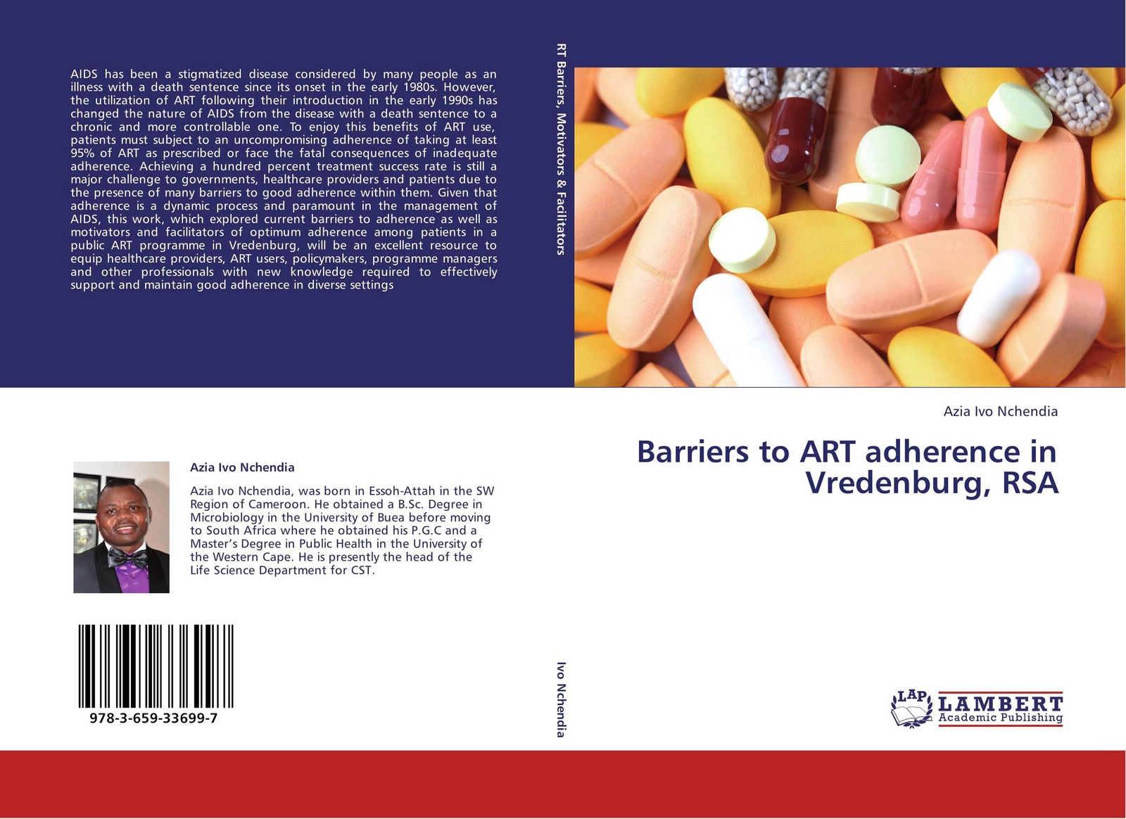 цены Azia Ivo Nchendia Barriers to ART adherence in Vredenburg, RSA