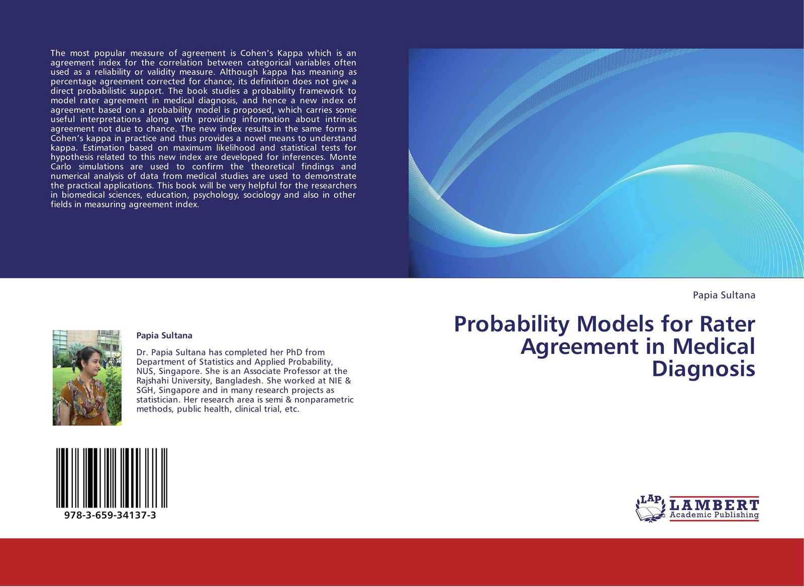 лучшая цена Papia Sultana Probability Models for Rater Agreement in Medical Diagnosis