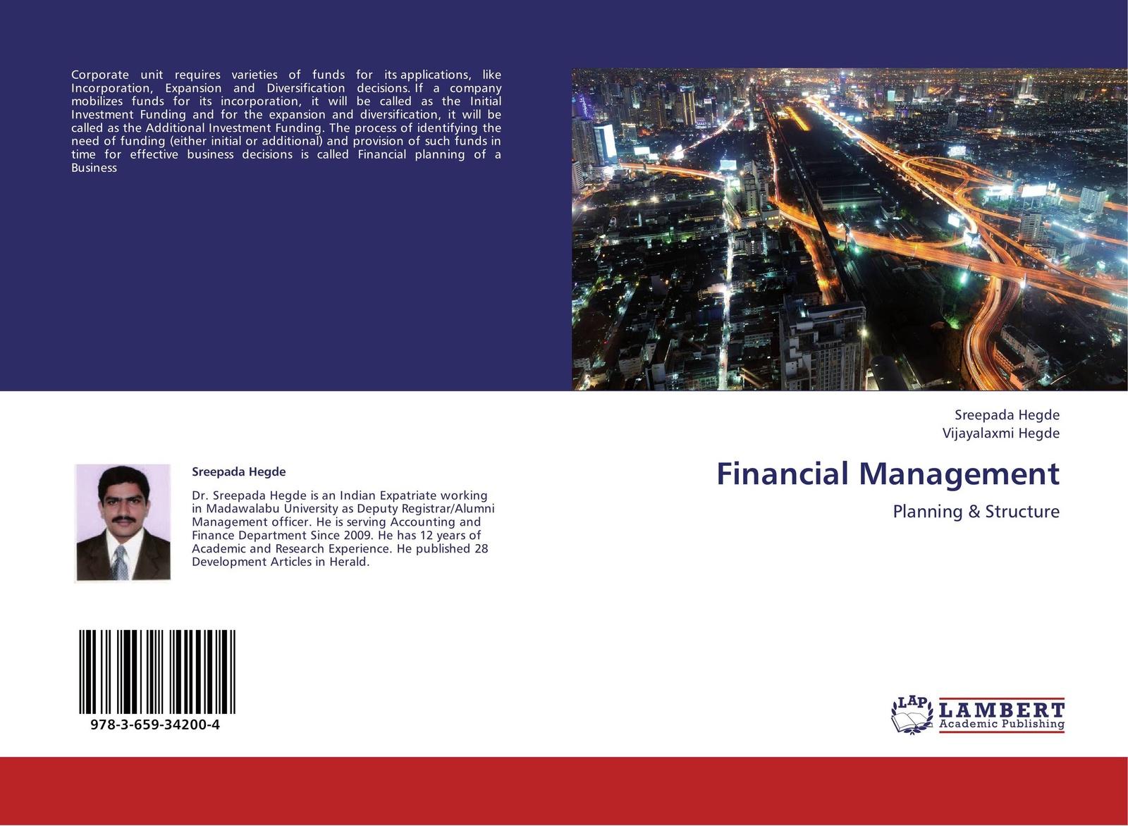 Sreepada Hegde and Vijayalaxmi Hegde Financial Management цена