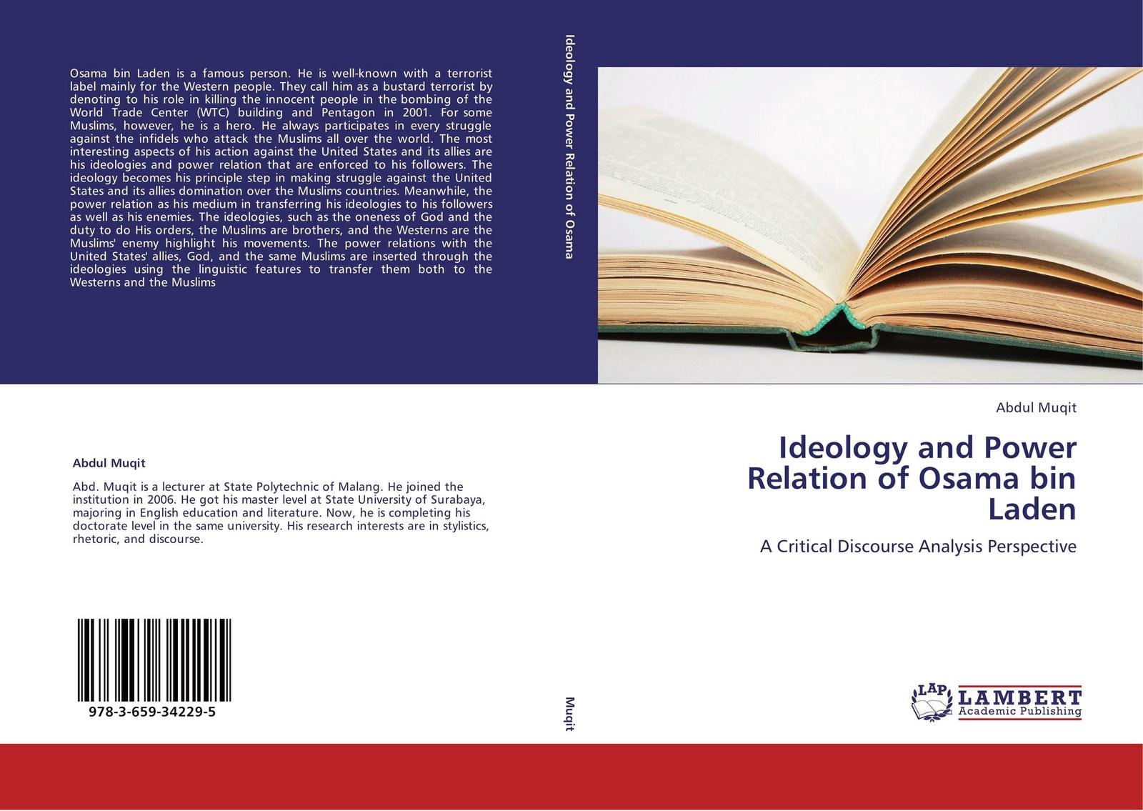 Abdul Muqit Ideology and Power Relation of Osama bin Laden