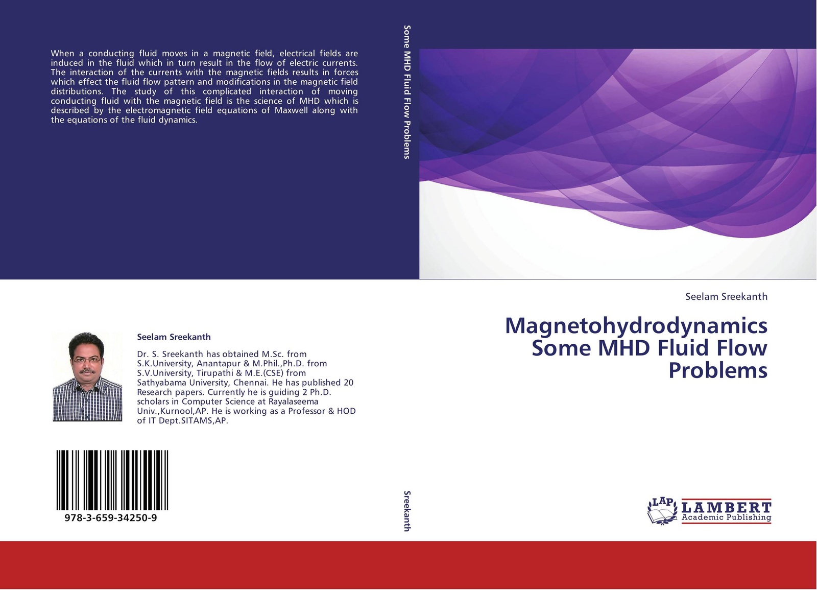 Seelam Sreekanth Magnetohydrodynamics Some MHD Fluid Flow Problems generation of magnetic field in laser plasma interactions
