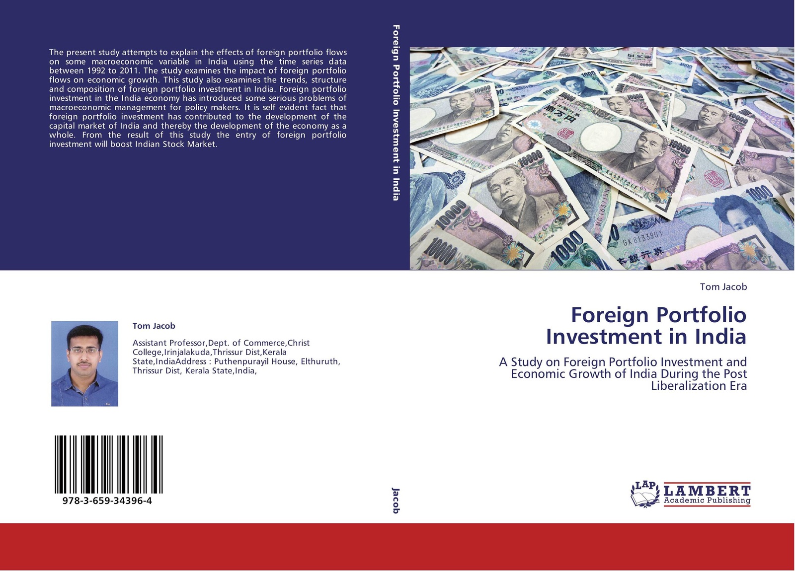 Tom Jacob Foreign Portfolio Investment in India greg fedorinchik investment leadership and portfolio management the path to successful stewardship for investment firms