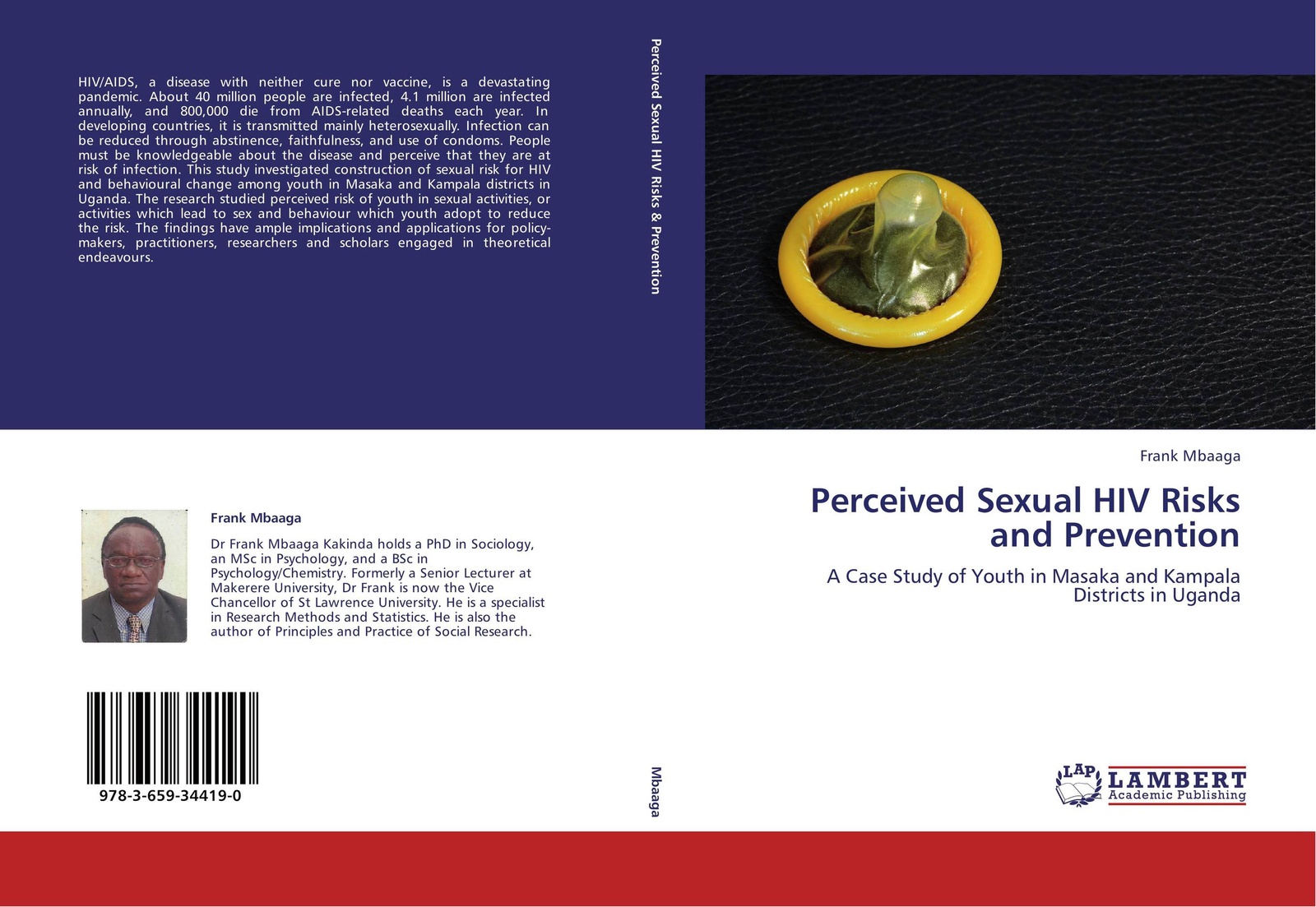 Frank Mbaaga Perceived Sexual HIV Risks and Prevention western culture and behavioral change among the youth in uganda