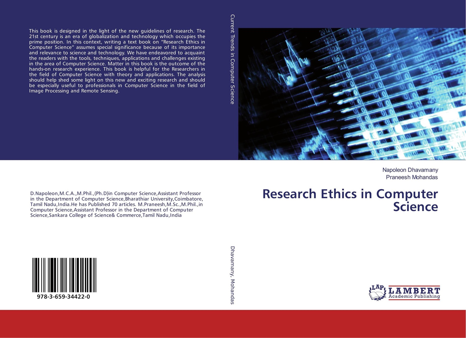 Napoleon Dhavamany and Praneesh Mohandas Research Ethics in Computer Science paul wood j river science research and management for the 21st century