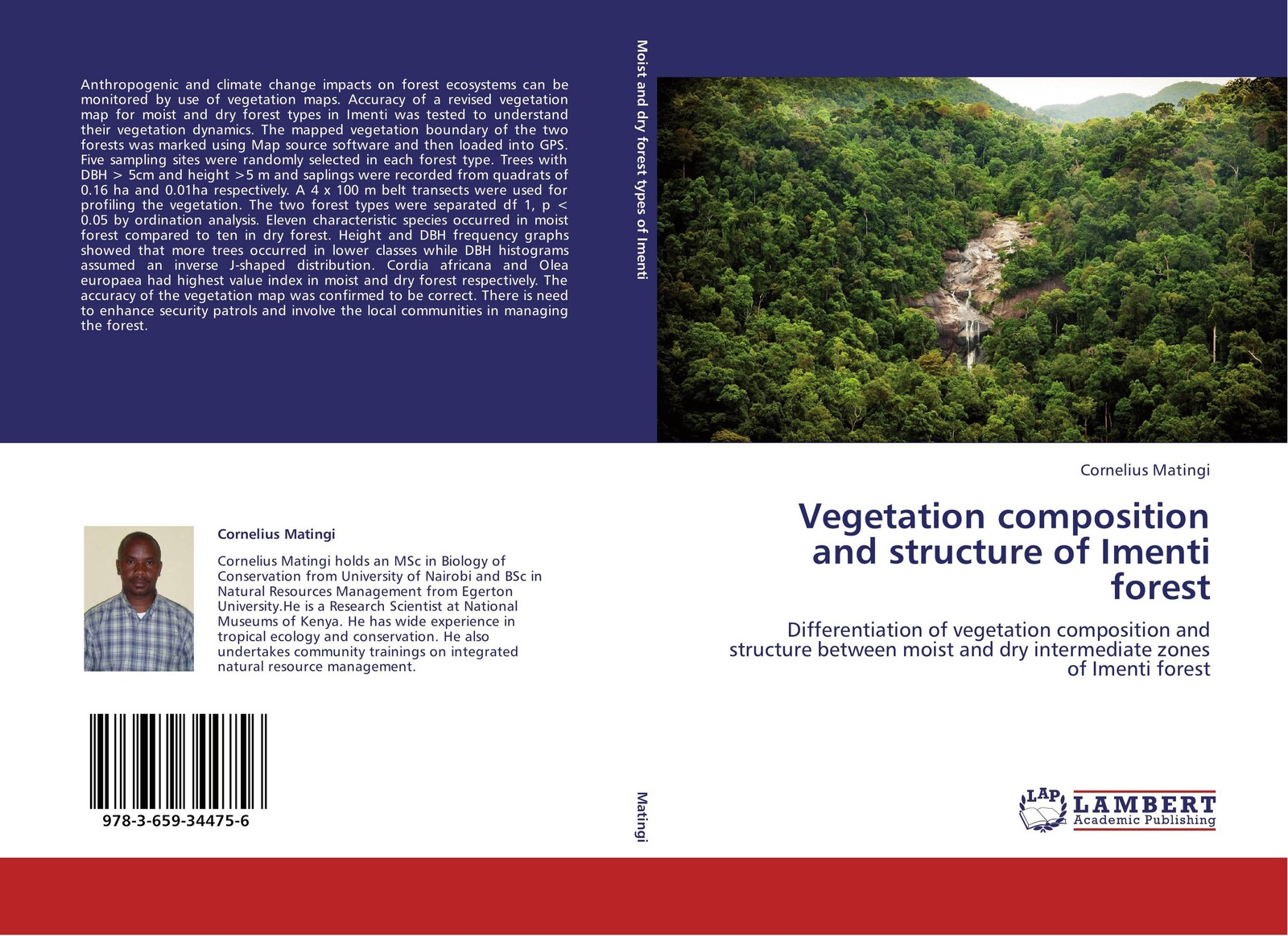 Cornelius Matingi Vegetation composition and structure of Imenti forest forest resource use by adjacent communities of mau forest complex