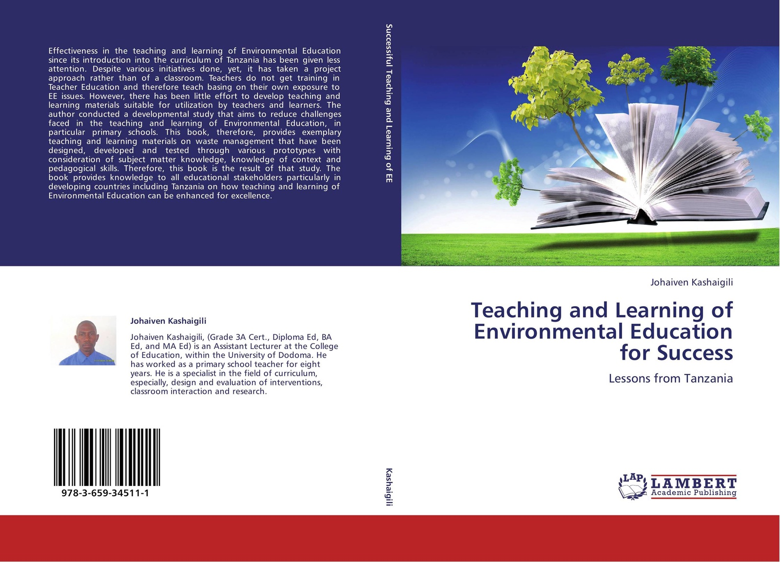 Johaiven Kashaigili Teaching and Learning of Environmental Education for Success joel kayombo education for all in tanzania achievements and shortfalls