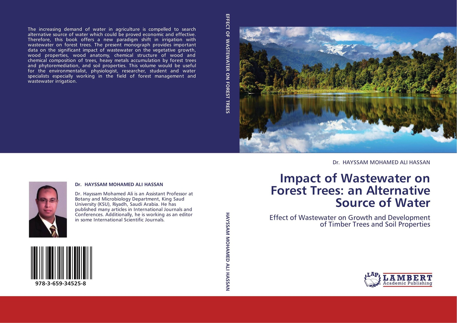 Dr. HAYSSAM MOHAMED ALI HASSAN Impact of Wastewater on Forest Trees: an Alternative Source of Water successful eu leader projects on non wood forest products