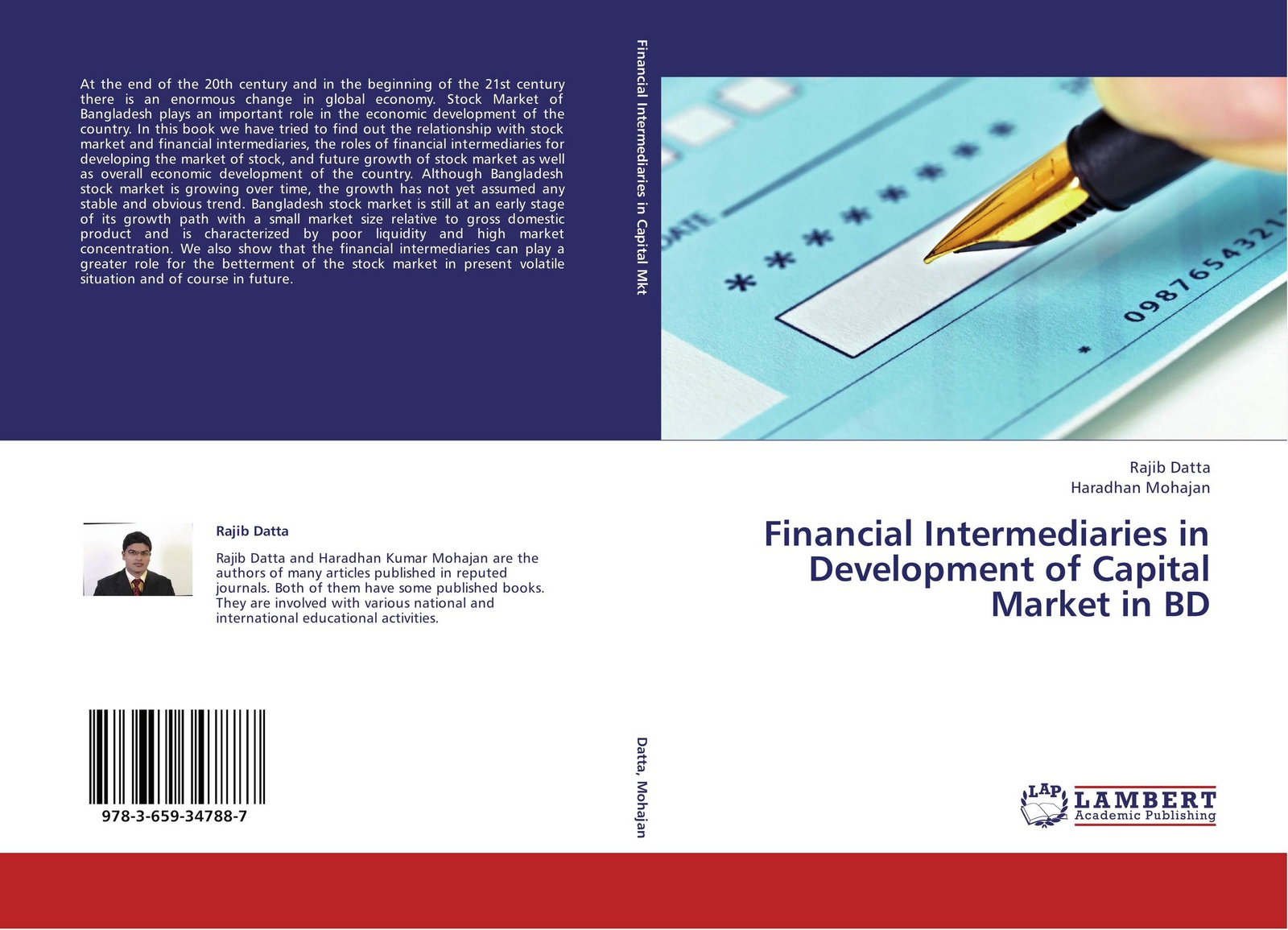 Rajib Datta and Haradhan Mohajan Financial Intermediaries in Development of Capital Market in BD yichen liu financial development and economic growth
