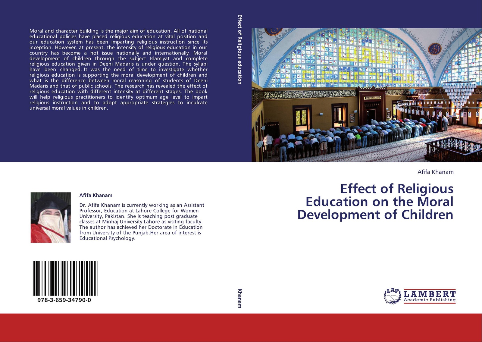 Afifa Khanam Effect of Religious Education on the Moral Development of Children afifa khanam effect of religious education on the moral development of children