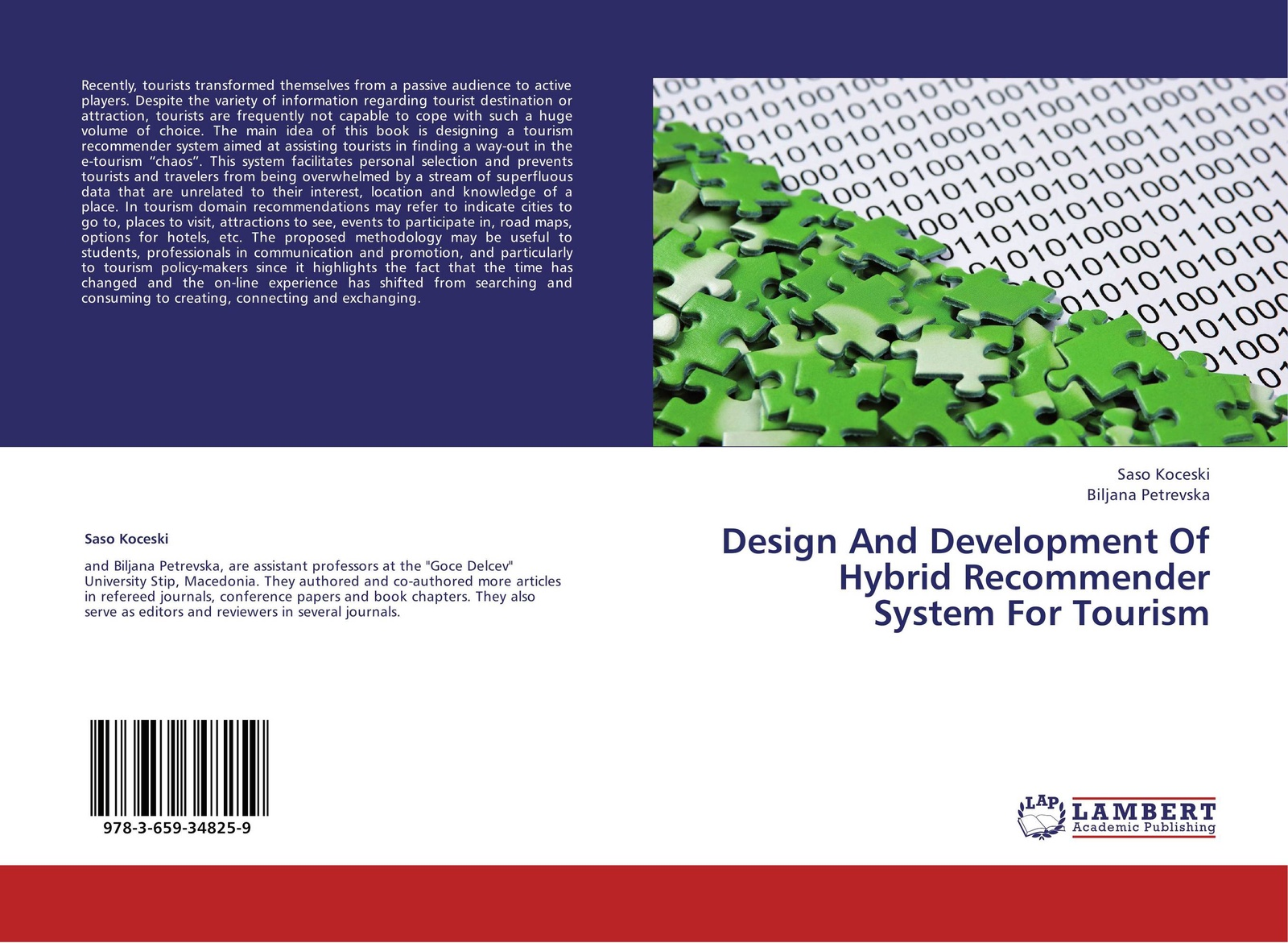 купить Saso Koceski and Biljana Petrevska Design And Development Of Hybrid Recommender System For Tourism по цене 3944 рублей