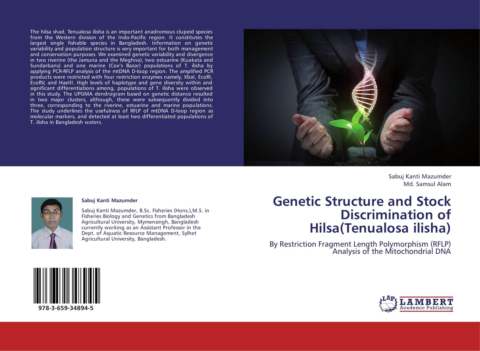 Sabuj Kanti Mazumder and Md. Samsul Alam Genetic Structure and Stock Discrimination of Hilsa(Tenualosa ilisha)