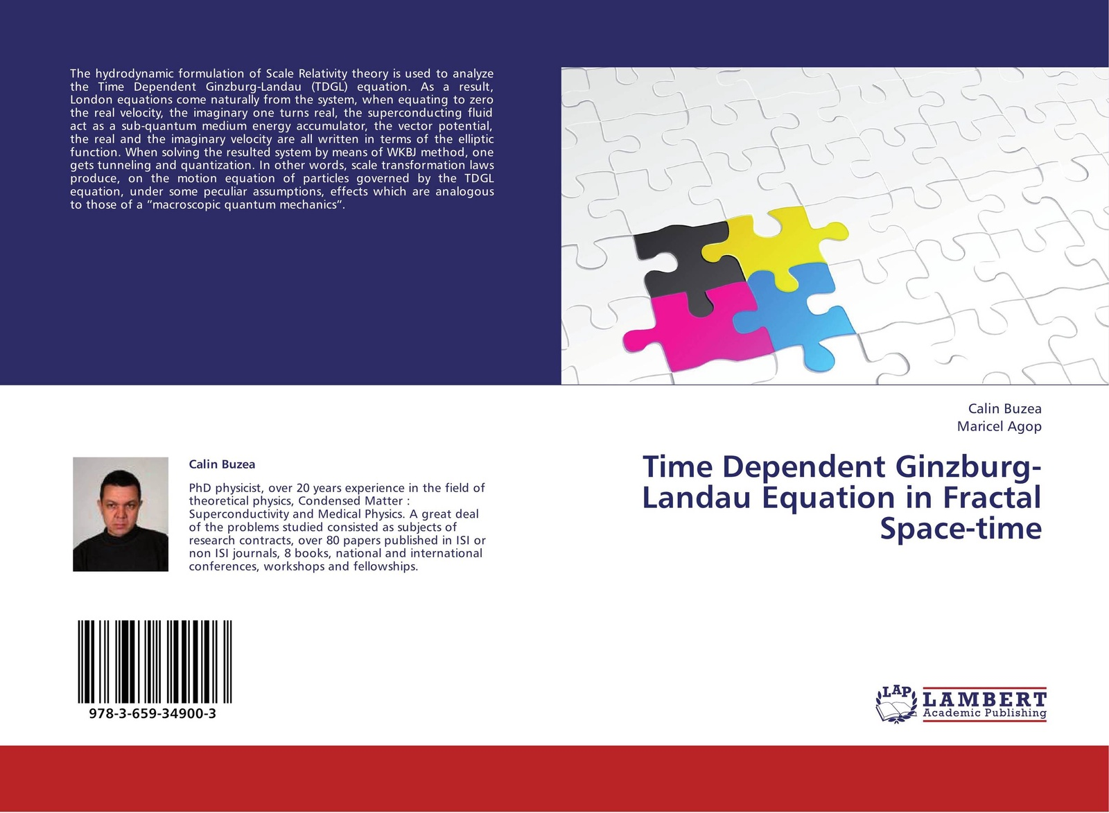 Calin Buzea and Maricel Agop Time Dependent Ginzburg-Landau Equation in Fractal Space-time