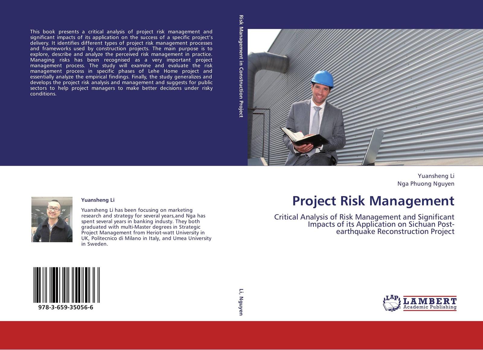 Yuansheng Li and Nga Phuong Nguyen Project Risk Management